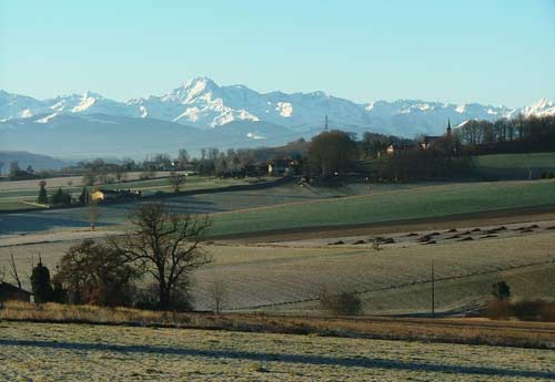 puydarrieux and pyrenees